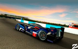 Peugeot 908 at Sebring 2 by ZowLe