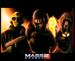'I Got Better' Mass Effect 2 by RiptideX1090