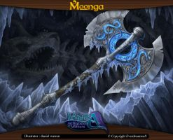 Moonga - Itlan Axe by moonga