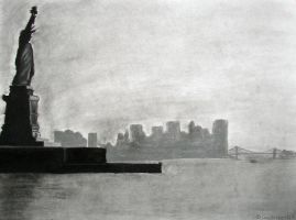 New York Charcoal by GamerWorld14