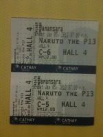 NARUTO MOVIE TICKETS!!!!! by Animefangirl68