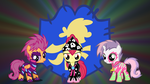 cutie mark crusaders Show Stoppers by neodarkwing