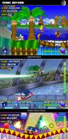 Sonic Beyond_screenshot pack 1 by XAMOEL