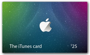 The iTunes Weaver Card by lebreton