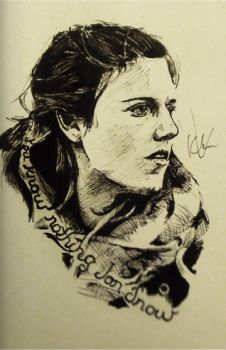 You know nothing Jon Snow by naucacoa