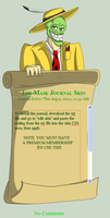 The mask Journal skin installable by dragonfire1000