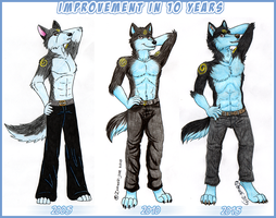 Orion Anthro - 10 Years Of Improvement by Zerwolf