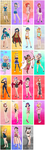 One Piece female characters, part 4 by Hapuriainen