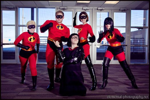 The Incredibles... and Edna by eatsleepbroadway