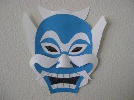 Blue Spirit Mask by SaberFireTiger