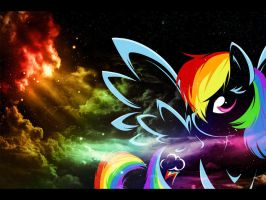 Rainbow Chick by awesomeblossom175