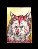 HowlingWolfSong ACEO by Suenta-DeathGod