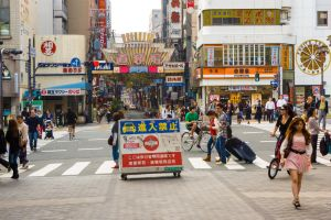 At the Mouth of Dotonbori by MarcAndrePhoto