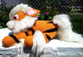 Jack Sparrow the Arcanine Plush by ArtisansShadow
