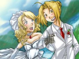 Fullmetal Wedding by Nishi06