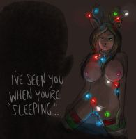 I've Seen You When You're Sleeping, Reindeer TF by BQNK