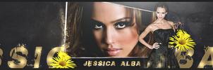 Jessica Alba Full Signature by Dennusz