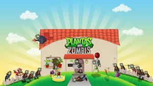 Wallpaper Plants vs Zombies by Monocidad