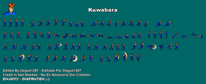 Kuwabara JUS Sprite Sheet by Degue-1297