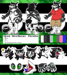 Opus Ref :COMMISH: by Ruby-Orca-616