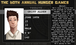 60th Hunger Games Tribute - Griff by fabulouslyDashing