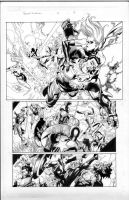 secret invasion 2 pg 8 by MarkMorales
