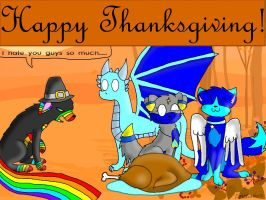 Happy Thanksgiving 2012 by AppleInuFreak2000