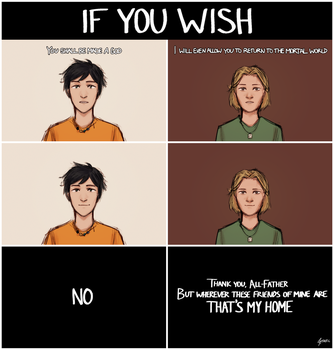 If You Wish... by StaticColour