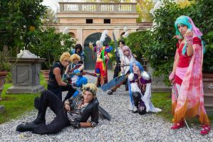 Final Fantasy cosplay group by HidekiPhotogallery