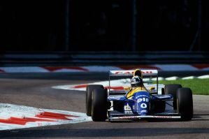Damon Hill (Italy 1993) by F1-history