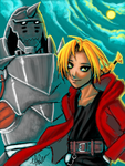 Elric Brothers by Laine-O