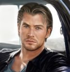 Chris Hemsworth by KerovinBlack