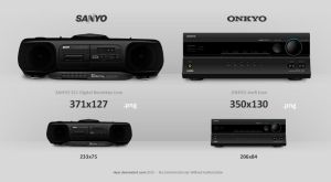 Sanyo and Onkyo Icon by hyar