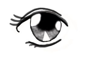 First attempt at drawing with graphics tablet by broganisamoomin