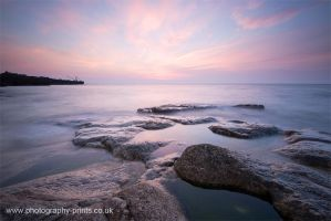 Rock Pools at Dawn by Neutron2K
