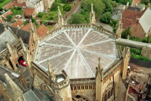 Chapter House roof by EarthHart