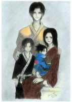 The Uchiha family by SanrinNaika