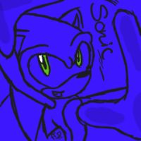 One Hour Sonic: Blue by FeistyFelioness