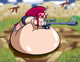 Commission: Grapippo Hunting by KonekoRyu