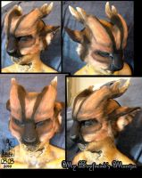 Mike's Muntjac Mask by Magpieb0nes
