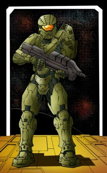 The Master Chief HALO by kar123