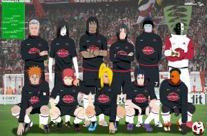 Akatsuki Football Club by tobito84