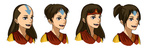 Aang Genderbend - Hair Styles by TheMightFenek
