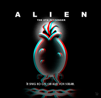 Alien Deco: The 8th Passenger 3D by inkjava