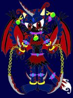 .:Vixxen the Dark Wind Demon:. by ShadowTheHedgehog23