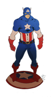 american super soldier by pain16
