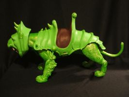 MOTUC Slime Pit Battle Cat 2 by masterenglish