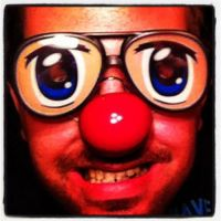 Movember day 15: The Anime Eyes With A Clown Nose by BlightProductions