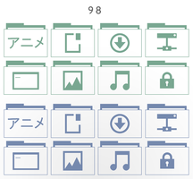 98 (icon set) by noha-ra