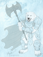 Polar Warrior by CunningFox